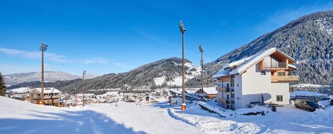 Ferienwohnungen Direkt An Der Skipiste Hillside Appartements Flachau